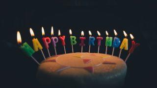 長女の誕生日ケーキなし