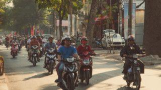 ベトナム ホーチミン市のバイク軍団を見てビックリ!